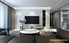 郑州康桥悦城125平三室装修后现代风格_3857880