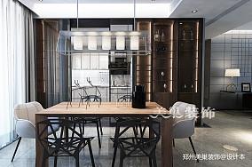 郑州康桥悦城125平三室装修后现代风格_3857884