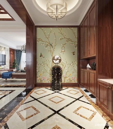 最美中式下午茶_3857947二居家装装修案例效果图