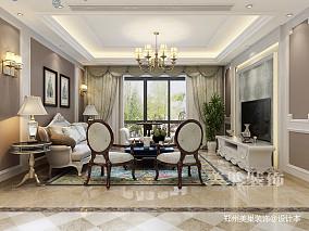 郑州冠景君悦湖165平四室装修欧式设计_3865257