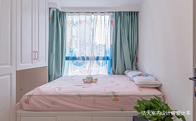 三居室现代轻奢实景,在线撩拨少女心~_3868857