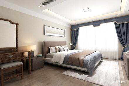 兴隆珠江湾畔样板房改造_3869997别墅豪宅家装装修案例效果图