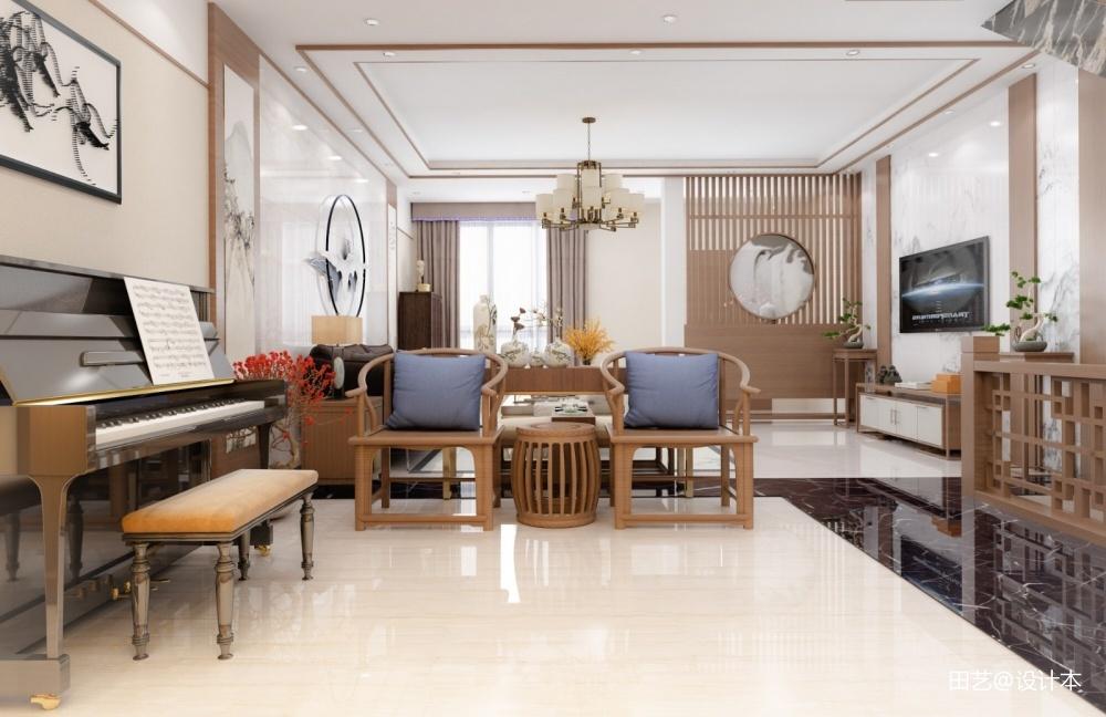 兴隆珠江湾畔样板房改造客厅客厅设计图片赏析