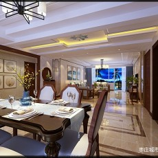 枣庄城市人家 峄城水发颐和园 装修效果图_3870035