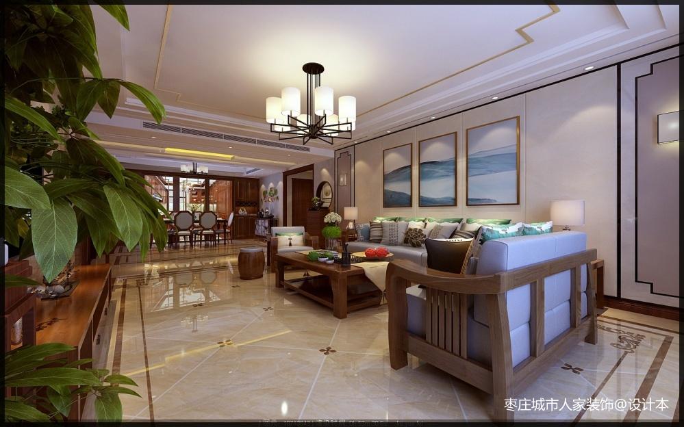 枣庄城市人家峄城水发颐和园装修效果图客厅客厅设计图片赏析