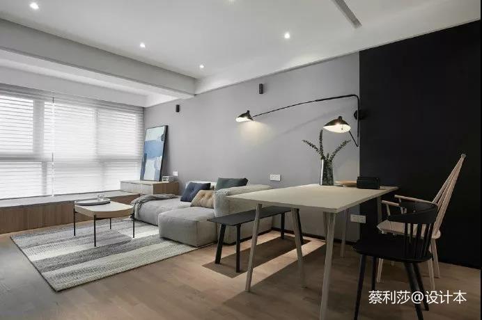 枣庄金泰御园现代简美风格客厅现代简约客厅设计图片赏析