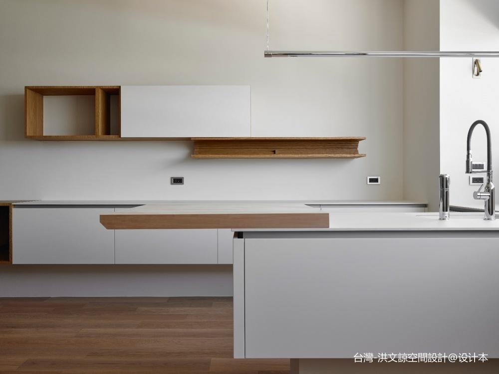 22號‧不多不少厨房现代简约餐厅设计图片赏析