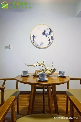 6万80㎡中式现代家装装修效果图
