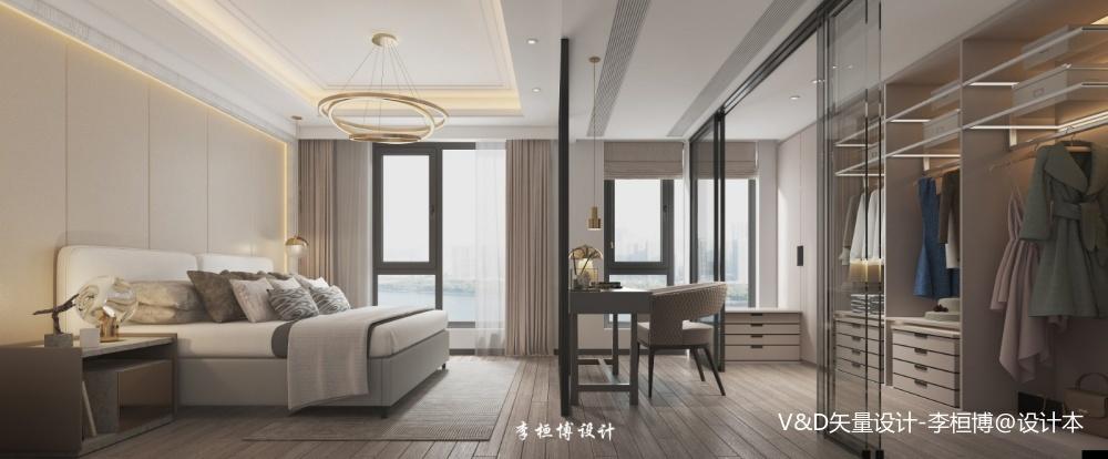天鹅堡卧室现代简约卧室设计图片赏析