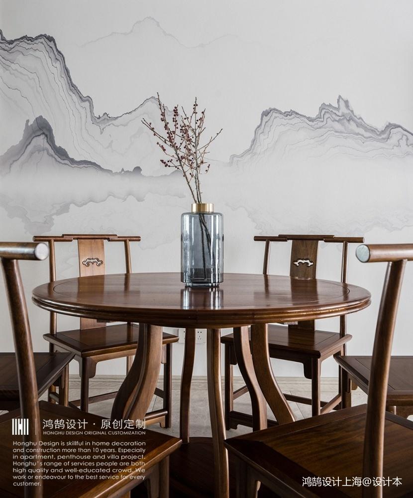 人文情怀镌刻新中式里的古风古韵厨房中式现代餐厅设计图片赏析