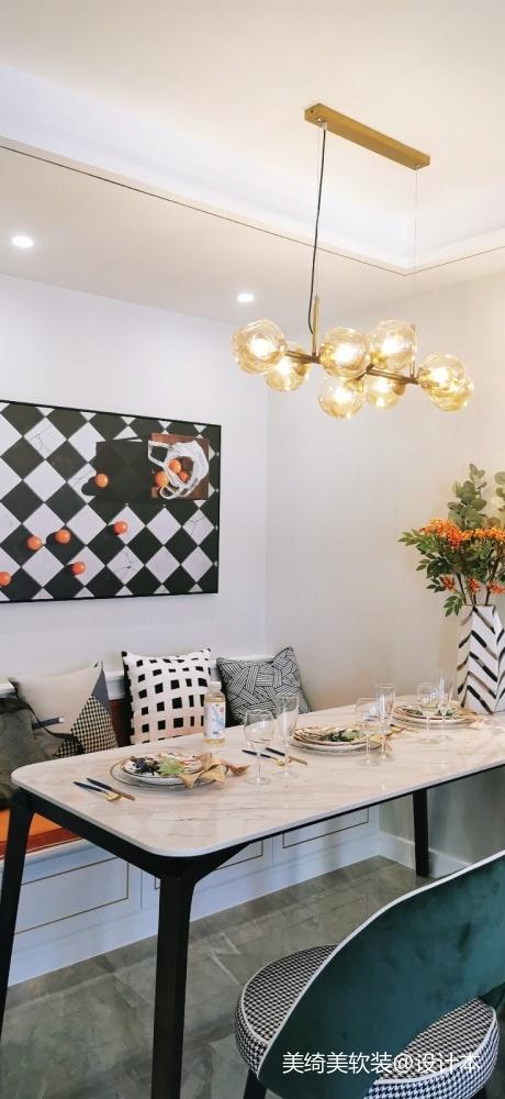 首创龙湾样板间厨房其他餐厅设计图片赏析