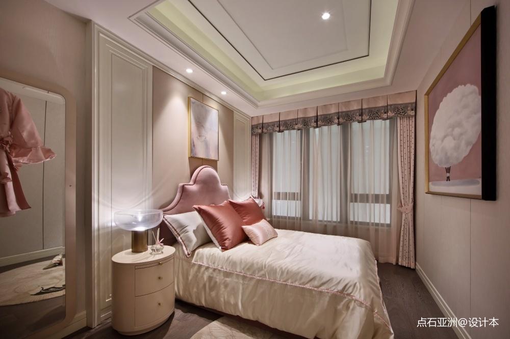 点石亚洲摩登港风经典精致卧室潮流混搭卧室设计图片赏析