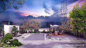 蓝毓、新中式别墅_3878148