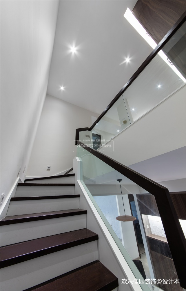 欢乐佳园现代简约复式楼空间改造很实用功能区现代简约功能区设计图片赏析