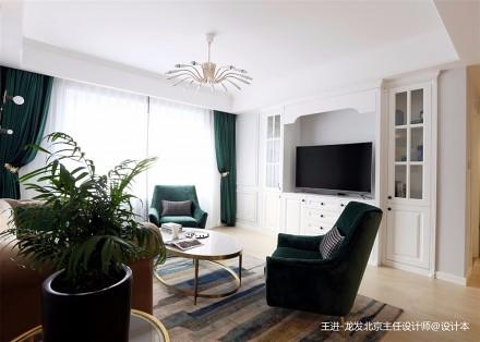 美式轻奢110平米住宅设计_3878922