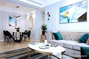 美式轻奢110平米住宅设计_3878921