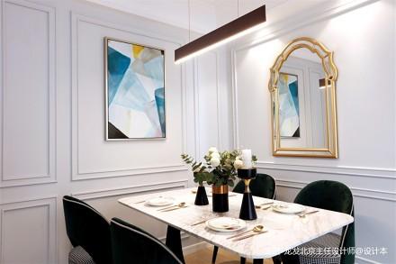美式轻奢110平米住宅设计_3878923
