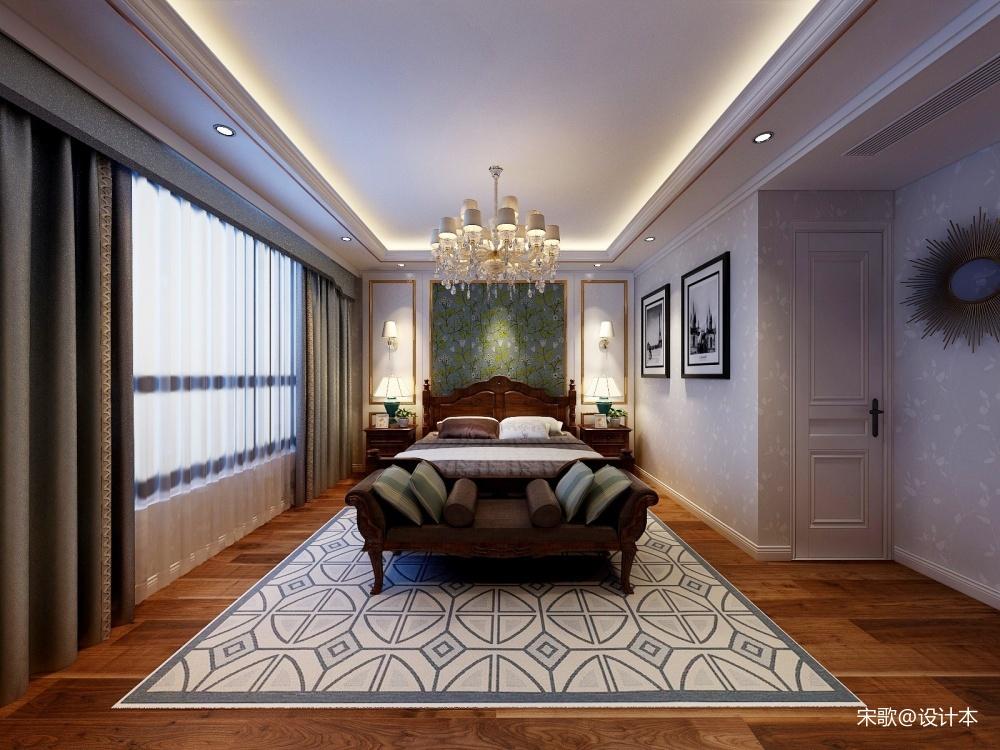 轻奢美式卧室美式经典卧室设计图片赏析