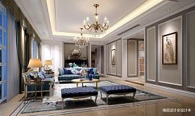 简约美式风格公寓_3881483
