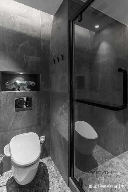 保利独墅西岸90㎡与光同尘卫生间
