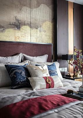 围炉煮茶,集古韵今样板间中式现代家装装修案例效果图