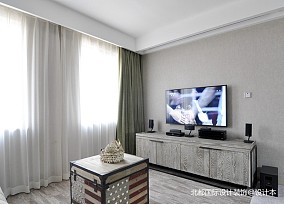 北京装修||文艺范的60平米一居室_3902757