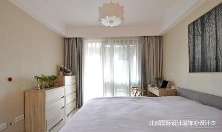 北京装修  文艺范的60平米一居室卧室