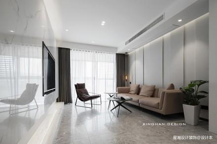 花最少的预算装修成了全小区最红的房子_3902785三居现代简约家装装修案例效果图