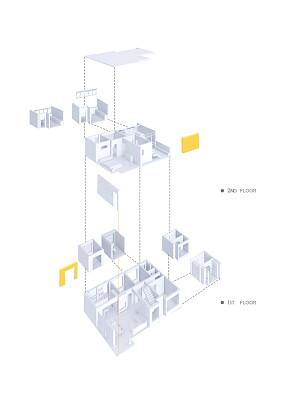 壹阁设计x作『NANA』三居北欧极简家装装修案例效果图