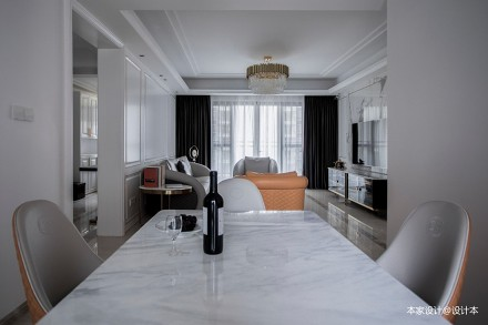 现代轻奢风,演绎优雅气质和生活美学厨房