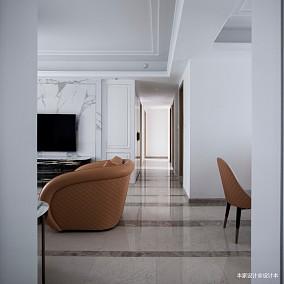 现代轻奢风,演绎优雅气质和生活美学玄关设计图片赏析