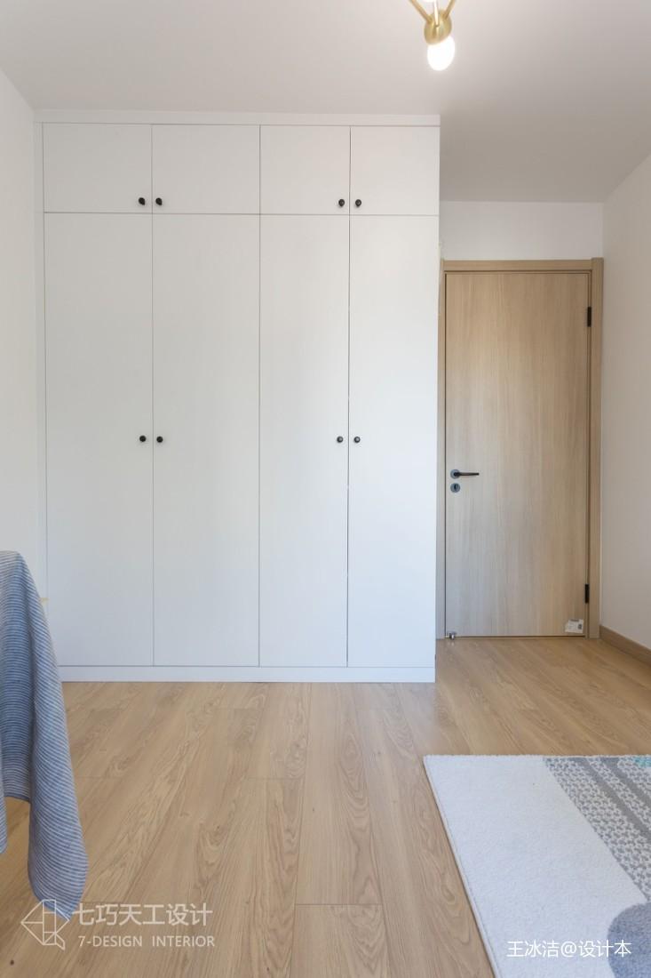 124m²极简muji风公寓功能区衣柜日式功能区设计图片赏析