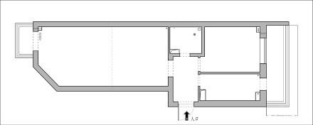 52㎡极致改造,全屋只留8件家具_3909931