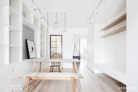 52㎡极致改造,全屋只留8件家具_3909933二居现代简约家装装修案例效果图
