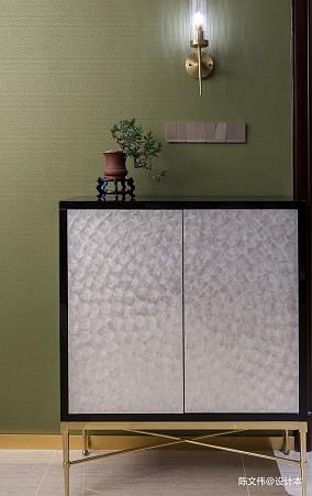 [韵]三居中式现代家装装修案例效果图