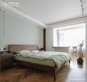 小白的家一居中式现代家装装修案例效果图