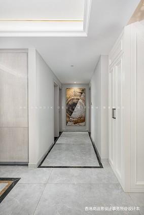 高迪愙实景|阁楼与金色的生活理想玄关设计图片赏析