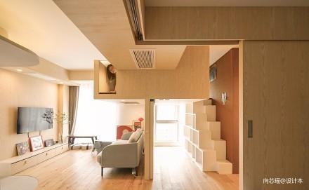 木两居·北京_3917888二居日式家装装修案例效果图