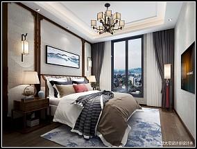 新中式风格别墅装修案例_4001892