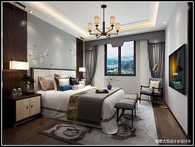 新中式风格别墅装修案例_4001893