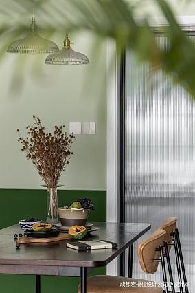 青木瓜之味 宏福樘设计厨房潮流混搭设计图片赏析