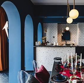 宽窄巷子旁,轻奢摩登与市井文化的融合餐厅潮流混搭设计图片赏析