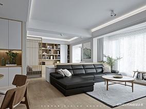 《150平二手房翻新》花小钱办大事,客厅日式设计图片赏析