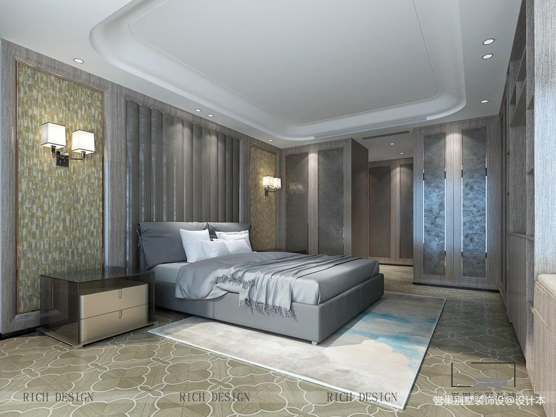 香域中央繁华都市里的摩登生活卧室现代简约卧室设计图片赏析
