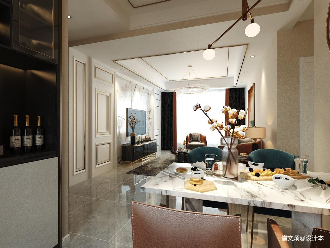 后现代两居厨房现代简约餐厅设计图片赏析