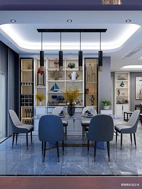 现代极简风格三居现代简约家装装修案例效果图