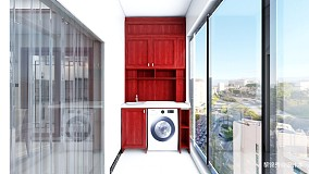 新中式四居室四居及以上中式现代家装装修案例效果图