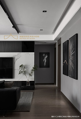 万科精装房改造寻一处谧静三居现代简约家装装修案例效果图