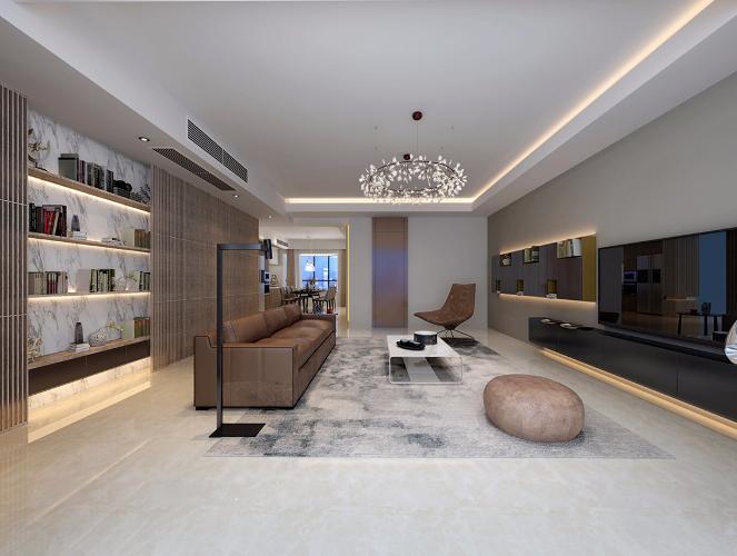 五居室大平层现代简约设计