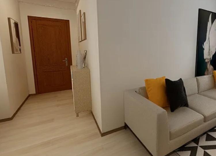 60平三居室現代裝案列